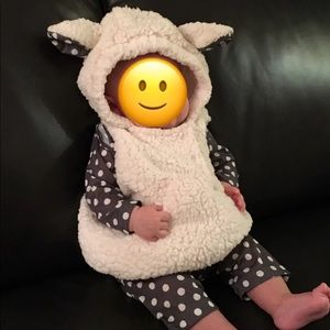 Other - Little Lamb 6-12month Halloween Costume